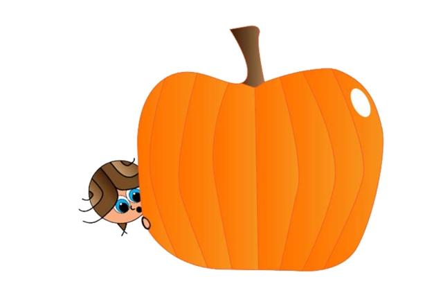 large pumpkin and liz3